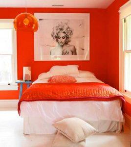 decorar-pintar-dormitorio-cuarto-habitacion-naranja