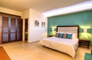 decorar-pintar-dormitorio-cuarto-habitacion-verde-tropical